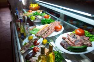 Вкусни ястия приготвени на жар ресторант Елегант - гр. Пазарджик